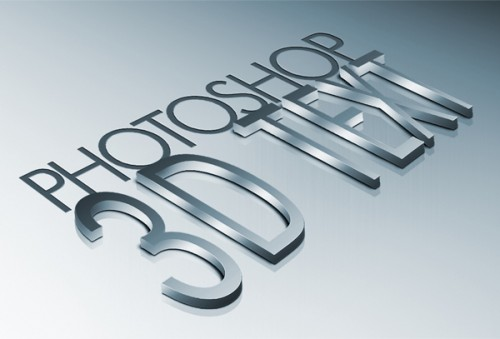 10_How to Create High Quality Metal 3D Text in Photoshop