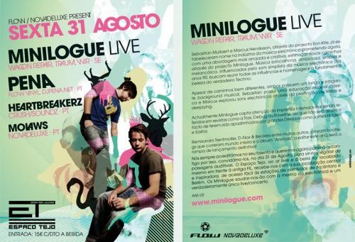 10_Minilogue Flyer