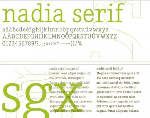 11_Nadia Serif Typeface