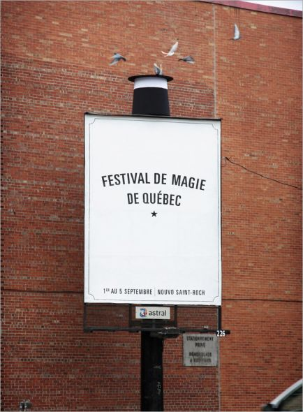 12_Quebec City Magic Festival Magic Hat And Pigeons