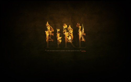 13_Dramatic Text on Fire Effect in Photoshop