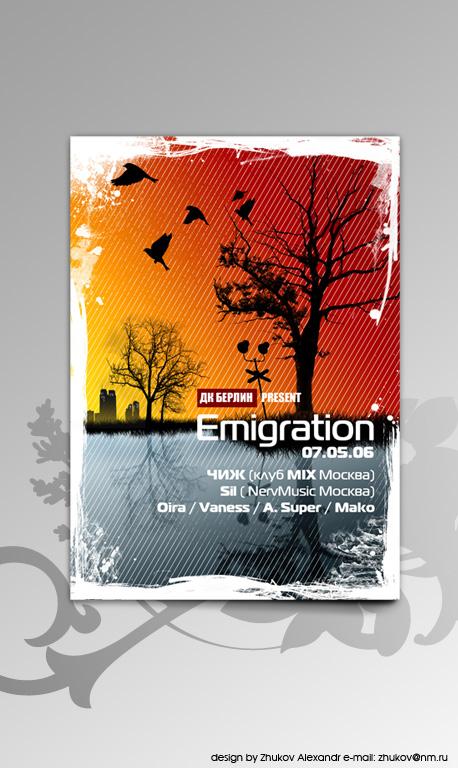 15_Emigration Flyer