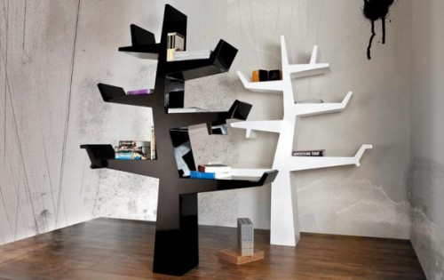 15_Original Bookcase Design Inspired by a Tree