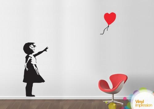 16_Banksy Girl Heart