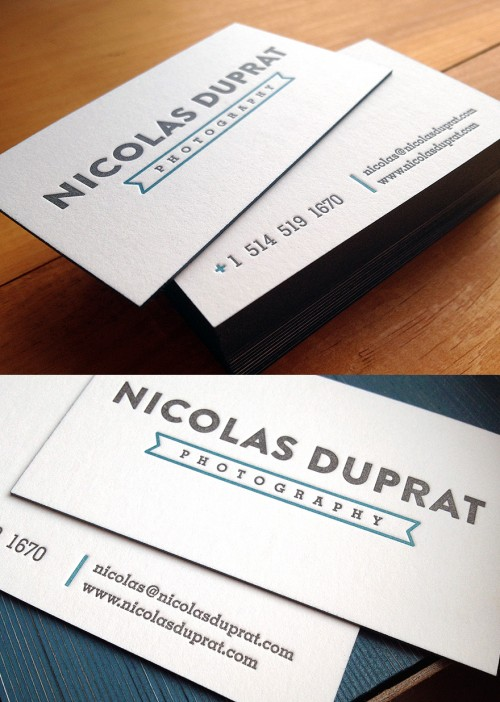 1_Letterpress Business Cards