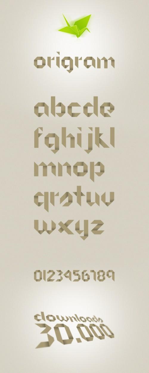 1_ORIGRAM Free Font
