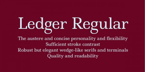 21_Ledger Regular