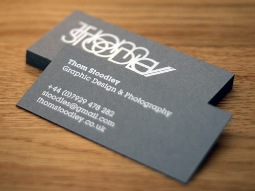 Business cards 40 creative photography business cards 23 thom stoodley reheart Image collections