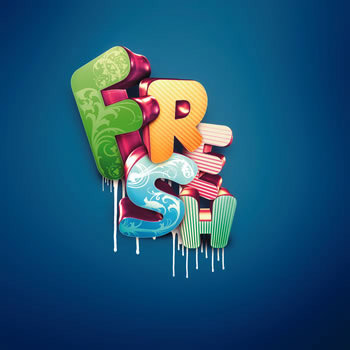 24_3D Typographic Effects