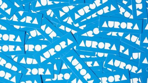 24_Aurora Sticker
