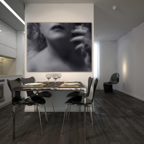 25_Dining Corner in Modern Minimalistic Apartment