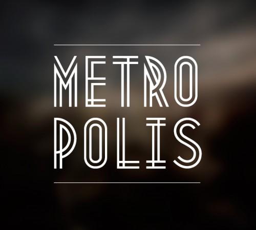 29_Metropolis Free Font