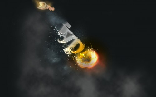 2_Create a Spectacular Flaming Meteor Effect on Text