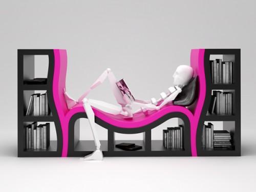 30_Console Bookshelves