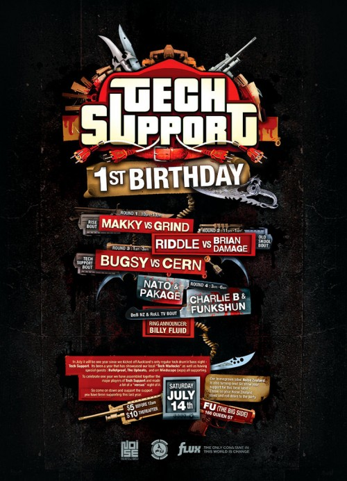 31_TechSupport Birthday Gig