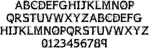 3_Wild Wood Font