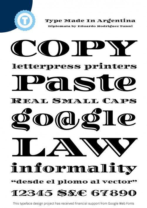 43_Diplomata - Free Google Web Font