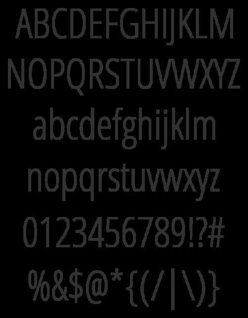 49_Open Sans Condensed