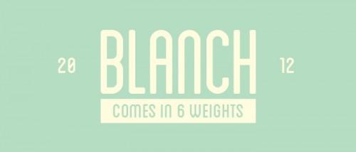 58_Blanch Font