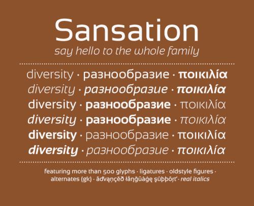6_Sansation Typeface