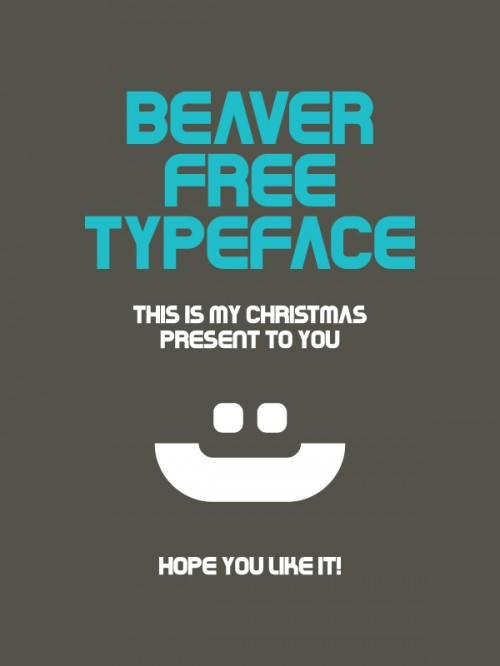 7_Beaver Typeface