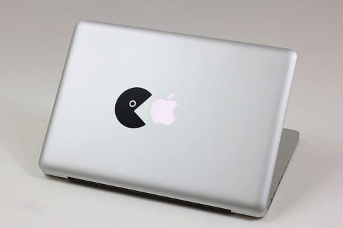 7_Pacman Macbook Sticker