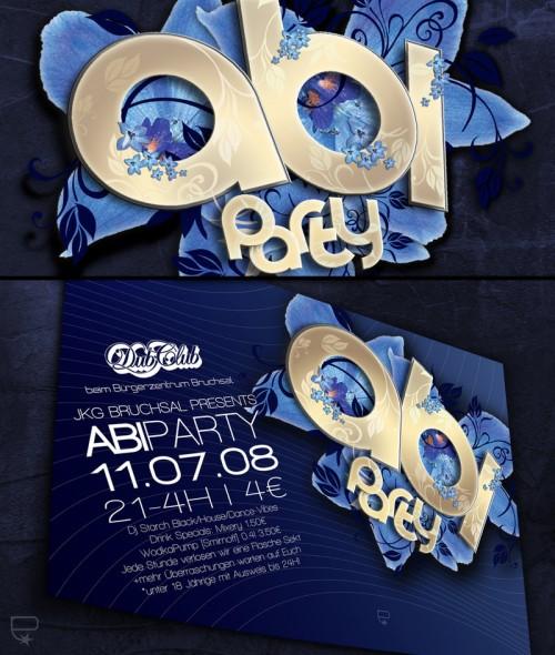 8_Party Flyer Design Club Dub
