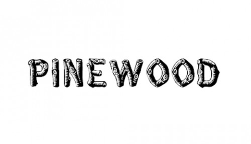 8_Pinewood Font