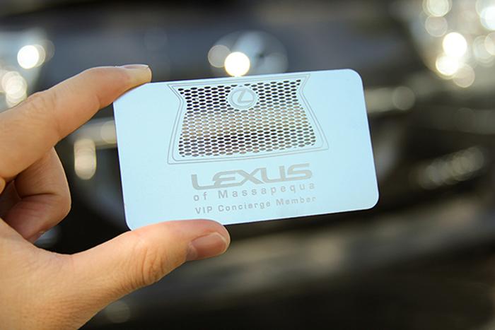round die cut business cards