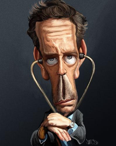 17_House M.D. Caricature