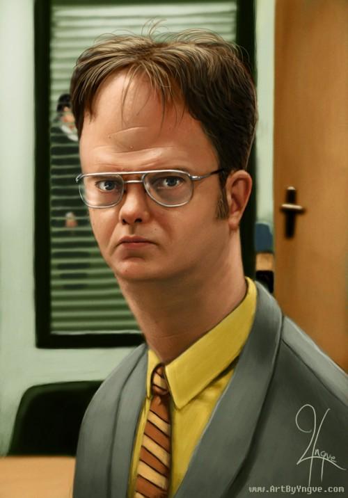 18_Dwight Schrute Caricature