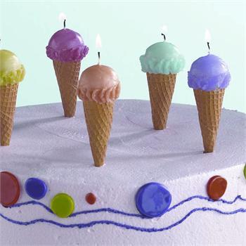 19_Ice Cream Cone Candles