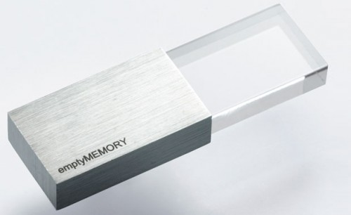 1_Empty Memory USB Stick by Logical Art