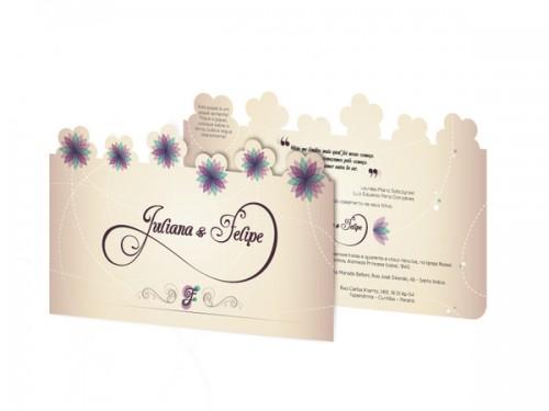 20_Spring Wedding Invitation – Seed Paper