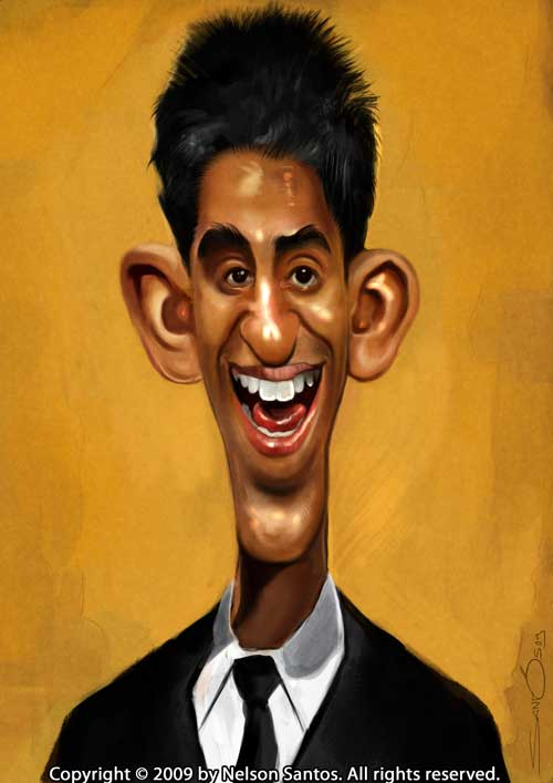 3_Dev Patel Caricature