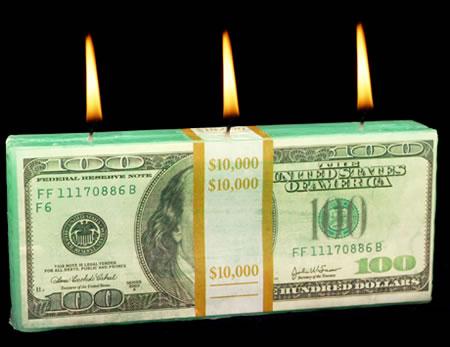 3_Money Candle