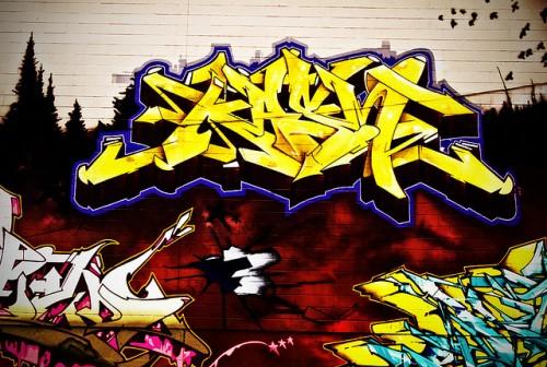 9_Graffiti Keele and Bloor