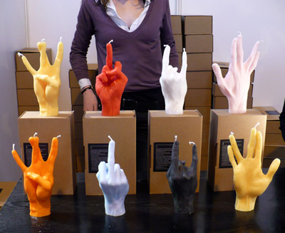 9_Hand Gesture Candles