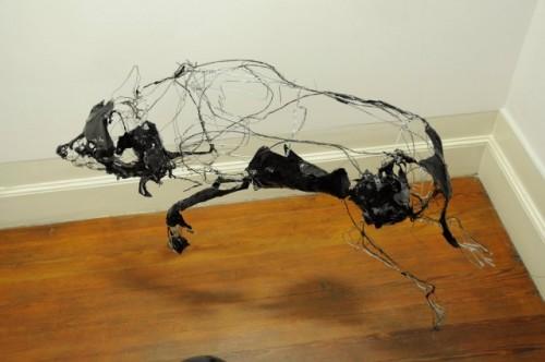 11_Wire Sculptures by David Oliveira