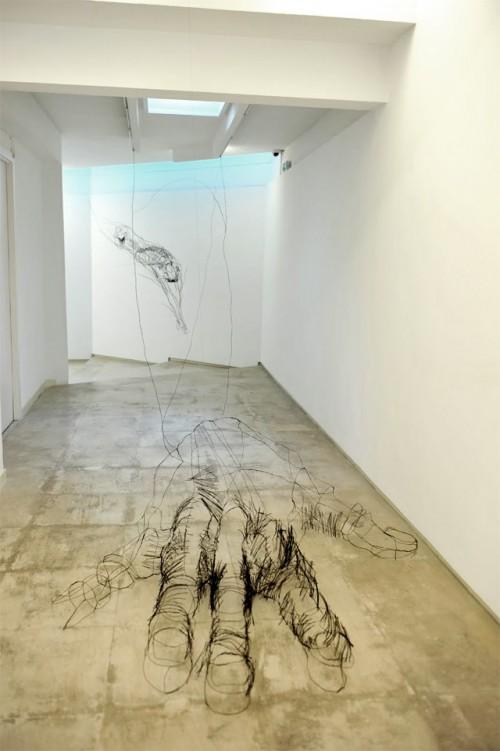 2_Wire Sculptures by David Oliveira