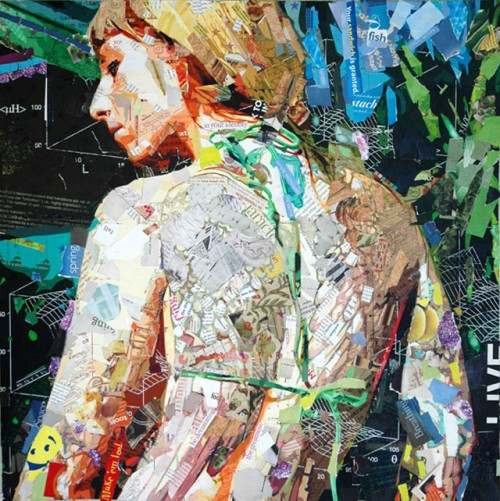 4_Recycled Collage Art of Derek Gores