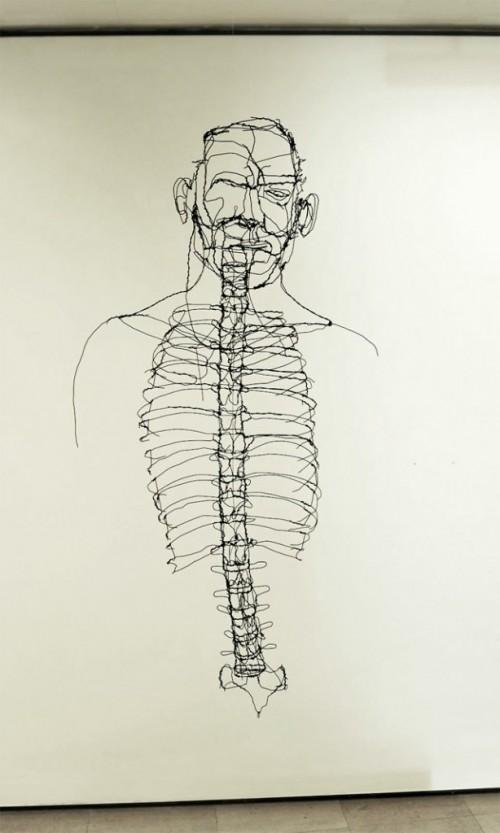 5_Wire Sculptures by David Oliveira