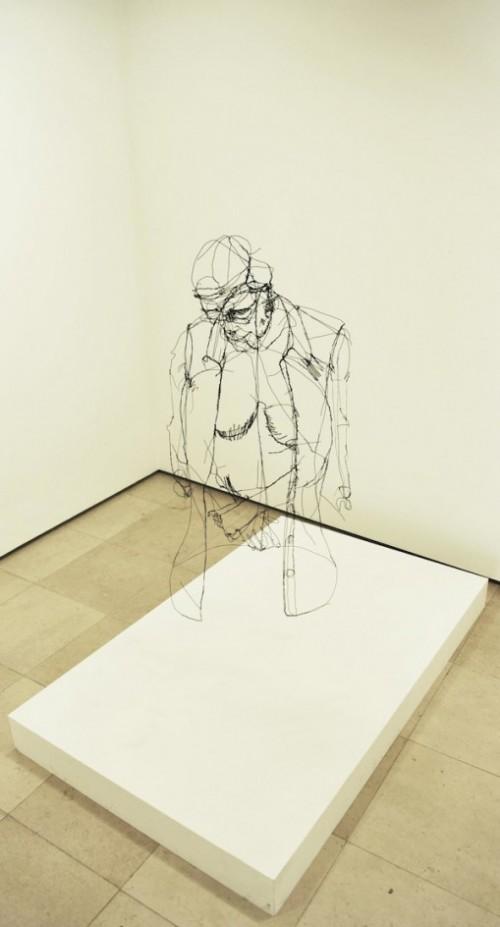 7_Wire Sculptures by David Oliveira