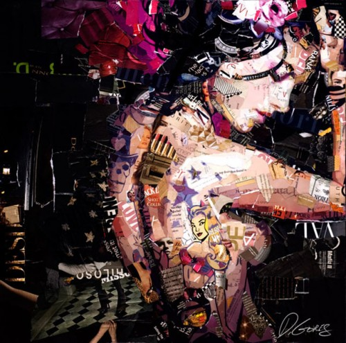 8_Recycled Collage Art of Derek Gores