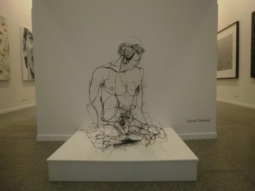 8_Wire Sculptures by David Oliveira