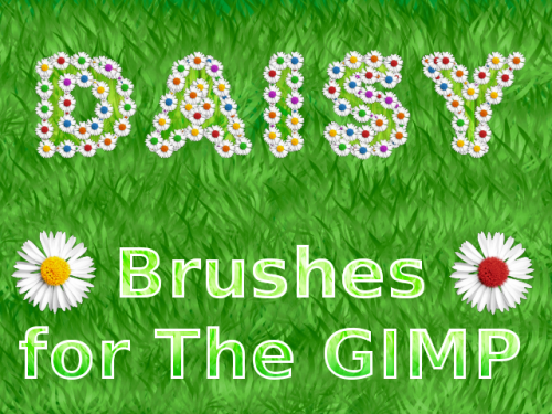 16_Daisy Brushes For The GIMP