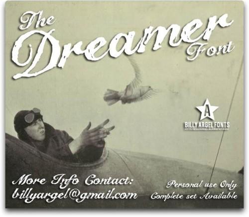 16_The Dreamer Font