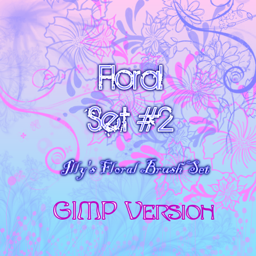 17_GIMP Floral Set 2
