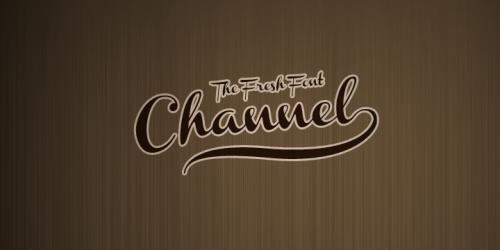 18_Channel Font