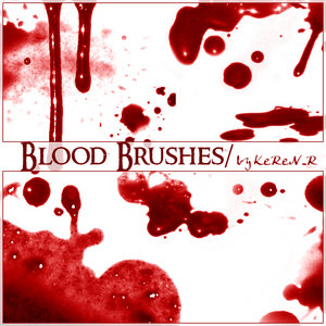 21_Blood Brushes by KeRen-R